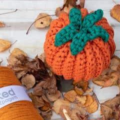 DIY Crochet Kit Supersize Pumpkin