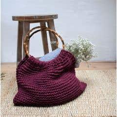 DIY Knitting pattern Fiorentina Bag