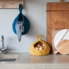 DIY Crochet Pattern Zpagetti Storage Bag