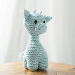 DIY Crochet Kit Giraffe Ziggy Eco Barbante Spring