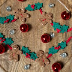 DIY Crochet Pattern Christmas Garland