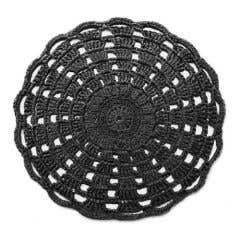 DIY Haakpakket Mandala Vloerkleed Charcoal Anthracite