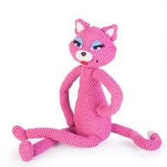 Patrón de crochet para hacer por uno mismo gata Lulú
