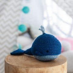 DIY Crochet Kit Whale Pepper Eco Barbante