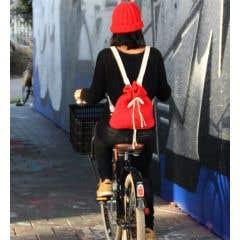DIY Crochet Pattern Brooklyn Red Backpack