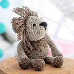 DIY Crochet Pattern Lion Leroy Eco Barbante