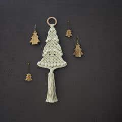 DIY Macramé Kit Wall Hanger Christmas Tree