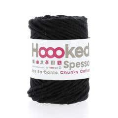 Spesso Chunky Cotton Noir 200g.