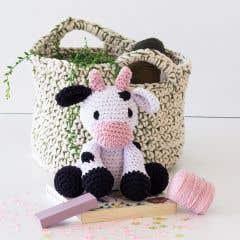 DIY Kit de Crochet Vaca Kirby