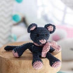 DIY Crochet Kit Kitten Kyra Eco Barbante