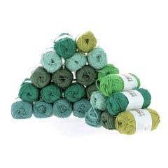 Garenpakket Soft Cotton DK Fennel Jade