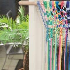 DIY Macramé Pattern Summer Curtain Bahia