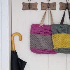 DIY Crochet Pattern Valencia Bag RibbonXL