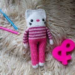 DIY Free Crochet Pattern Kitty Cat