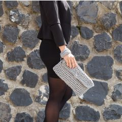 DIY Free Crochet Pattern Clutch Bag Charly