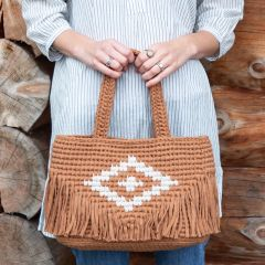 DIY Crochet Pattern Diamond Bag Tokyo