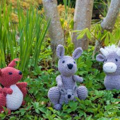 DIY Crochet Pattern Kangaroo Kayleigh