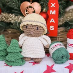 DIY Crochet Pattern Christmas Angel Luna