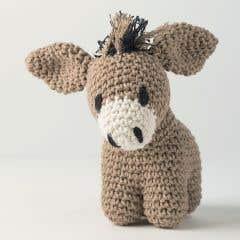 DIY Crochet kit Donkey Joe Eco Barbante Taupe