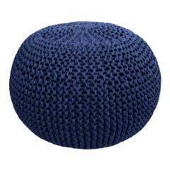 DIY Crochet & Knit Kit Zpagetti Pouf Marine Fashion