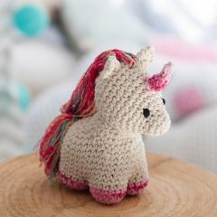 DIY Crochet Kit Unicorn Nora Eco Barbante