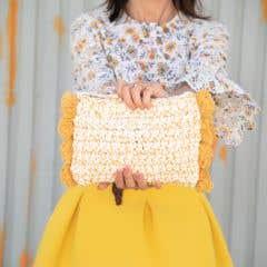 Diy Crochet Pattern Pompom Clutch Santorini