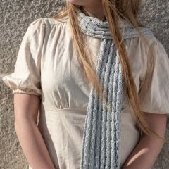 DIY Gratis Breipatroon Sjaal Spring Bells