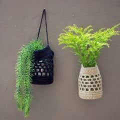 DIY Free Crochet Pattern Jar Covers
