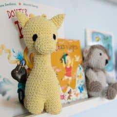 DIY Crochet Pattern Ziggy Giraffe Eco Barbante