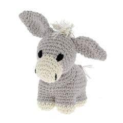 DIY Crochet kit Donkey Joe Eco Barbante Gris