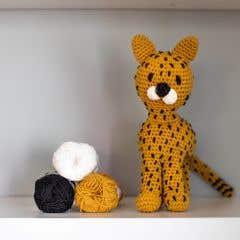 DIY Crochet Pattern Cheetah Chikee