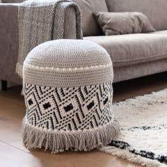 DIY Kit de Crochet Puf Medusa Bari
