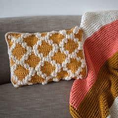 DIY Kit de Crochet Cojín Pienza