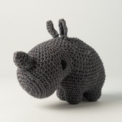 DIY Crochet Kit Rhino Dex Eco Barbante Lava