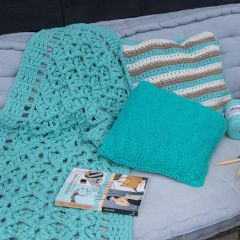 DIY Crochet Pattern Squared Rug Miami