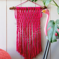 DIY Makramee Muster Wandbehang Catania