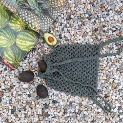 DIY Crochet Kit Drawstring Backpack Monza - Aspen