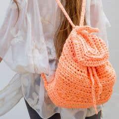 DIY Crochet Kit California Backpack