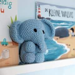 DIY Crochet Pattern Elephant Eco Barbante