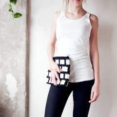 DIY Crochet Pattern Molla Mills Graphic Clutch Arles