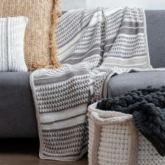 DIY Crochet Kit Blanket Stocksund
