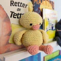 DIY Crochet Pattern Duckling Danny Eco Barbante