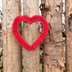 DIY Makramee-Anleitung Wandbehang Heart & Love