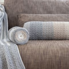 DIY Crochet Pattern Bolster Cushion Nybro