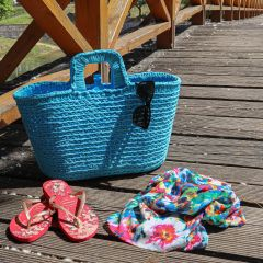 DIY Crochet Pattern RibbonXL Shopper