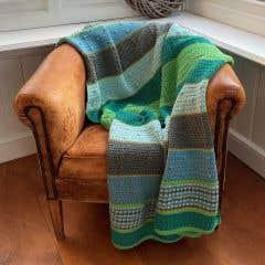 DIY Crochet Pattern Amsterdam Blanket
