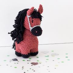 DIY Crochet Kit Pony Sienna
