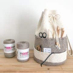 DIY Crochet Kit Project bag Jönköping