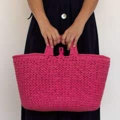 DIY Häkelset Shopper Bubblegum