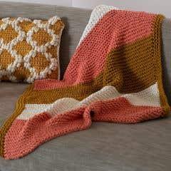 DIY Knitting Kit Lap Blanket Siurana